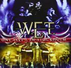 W.E.T. ONE LIVE IN STOCKHOLM JAPAN 2 CD WITH BONUS TRACKS