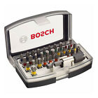 BOSCH 2607017359 32 Piece Colour Coded Screwdriver Bit Set