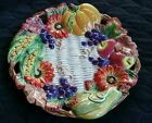 Fitz and Floyd Classics Autumn Bounty Canape Plate Fall Thanksgiving 9.5