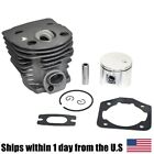 46mm Cylinder Piston & Ring Kit For Husqvarna Rancher 55 51 Chainsaw Parts Husky