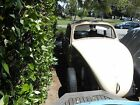 Volkswagen Beetle Classic 58 bug stalled out old speed project parts car