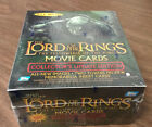 LOTR Fellowship of the Ring Update Edition Movie trading cards sealed box