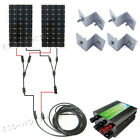 300Watt Complete Kit 2160W Mono Solar Panel with Controller  Cable  Bracket