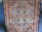SEMI ANTIQUE ARMENIAN SMALL RUG DATED 1942 EXCELLENT  VERY GOOD PILE 2 X 1'11
