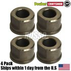 (4) Lawn Tractor Front Wheel Bushings Flange Bearings 9040H AYP Sears Rally