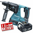 MAKITA DHR242Z 18v Li-ion Brushless SDS+ Rotary Hammer Drill + 5.0Ah Battery