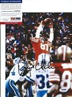 Dwight Clark San Francisco 49ers Signed 8X10 Photo Autographed PSA DNA Catch
