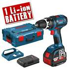 BOSCH GSB18VLI4W1 18v Li-ion Cordless Hammer Drill Driver with Wireless Charging