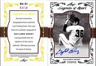 2011 LEAF LEGENDS OF SPORT GOLD GAYLORD PERRY SILVER AUTOGRAPH #BA31, AUTO # 10
