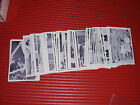 VINTAGE JFK TRADING CARDS 1963 ROLAN PARTIAL SET OF 39 OUT OF 64 NEAR MINT