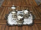 CHRISTOFLE RARE THE AND COFFEE SERVICE MODEL ART  NEW SPLENDID