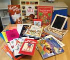 Sonlight Pre K K Homeschool Curriculum Lot with HWT Wood Pcs mat