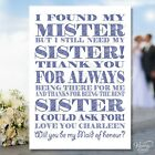 Will you be my Maid of honour sister Bridesmaid Invite Post Card invitation A6