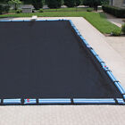 Harris Pool Products 10 Year Winter Covers for In Ground Rectangular Pools