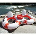 Solstice 17002 SuperChill Duo Inflatable Double Tube Floating 2 Seater NEW
