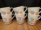 CORELLE CORNING FRESH CUT TULIPS Mugs, Set of 6
