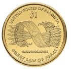 2010 D Sacagawea Native American Dollar US Mint Coin About Uncirculated