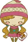 BEANIE ANYA-The Greeting Farm Cling Mount Rubber Stamp-Stamping Craft-RETIRED