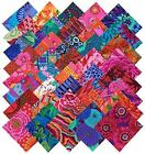 Kaffe Fassett Collective BOLD BRIGHT Precut 5 inch Cotton Fabric Quilting Square