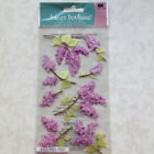 ADHESIVE Jolees Boutique Le Grande Dimensional Lovely Lilacs Stickers NEW