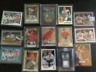 15x 2011 Mike Trout Bowman Chrome 2010 Platinum Finest Bat Rookie RC Lot SP Cano