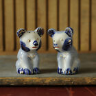 Pepper Shakers - Japan Vintage Blue and White