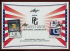 2014 LEAF PERFECT GAME SHOWCASE BASEBALL HOBBY BOX 25 autos box brendan rodgers
