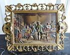 1880's Bradley and Hubbard Cold Painted Plaque Bronze Easel #1818