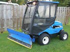 New Holland MC35 Front Mower 4x4 72 Inch Deck 5 Foot Snow Blade Cab Heat Lights