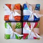 200 Assorted BATIK pre cut charm pack 25 squares 100 cotton fabric quilt