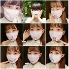New Anime Expression Mouth Mask Muffle Winter Cotton Funny Mouth Anti-Dust