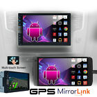 Android Phone Car DVD CD Stereo Mirror Link Capacitive Touch GPS BT FM IR Player