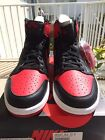 Nike Air Jordan 1 Retro High OG Black Red Bred 2013 555088 023 Sz 12