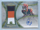 Giovani Bernard 2013 Topps Five Star Gold on card Auto Patch Rc 27 55 card # 113