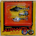 Airwolf set x 3 diecast ERTL 1984 TV show New HTF Rare Santini helicopter