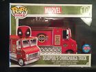 Funko Pop! Rides 10 Deadpool's Chimichanga Truck NYCC 2015 Mint New Red