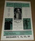 Americas Foremost Dead Accordionist Lawrence Seattle concert poster Art Chantry