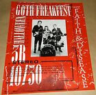 Goth Freakfest Faith Disease 3B Tavern concert poster Art Chantry signed