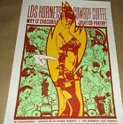 Los Hornets Cowboy Coffee Crocodile Cafe concert poster Art Chantry signed