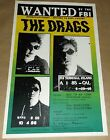 The Drags Weaklings Solicitors Las Vegas concert poster Art Chantry
