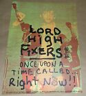 The Lord High Fixers Once Upon A Time Estrus Records promo poster Art Chantry