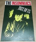 The Insomniacs Out Of It Estrus Records promo poster Art Chantry signed