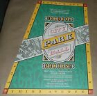 Seattle Concert At City Hall event promo rare poster Art Chantry signed