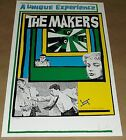 The Makers Estrus promo blank concert poster 1994 Art Chantry signed