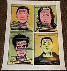 The Dt's Seattle poster Fantagraphics Jim Blanchard book signing ART CHANTRY