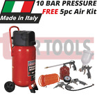 Sealey SAC05020 10 BAR Compressor 50ltr Belt Drive 2hp Oil 5pc. Air Toolkit