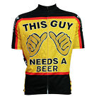 Cycling Jersey Retro This Guy Need A Beer Drunkard Alcoholic Clothing Ciclismo