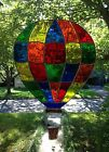 Stained Glass Window Hot Air Balloon Suncatcher