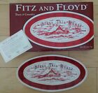 Fitz & Floyd Town & Country BLESS THIS HOUSE Snack Tray Server Plate BNIB