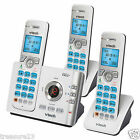 VTech DS6722-3 DECT 6.0 3 Handset Cordless Phone w/ Digital Answering System New